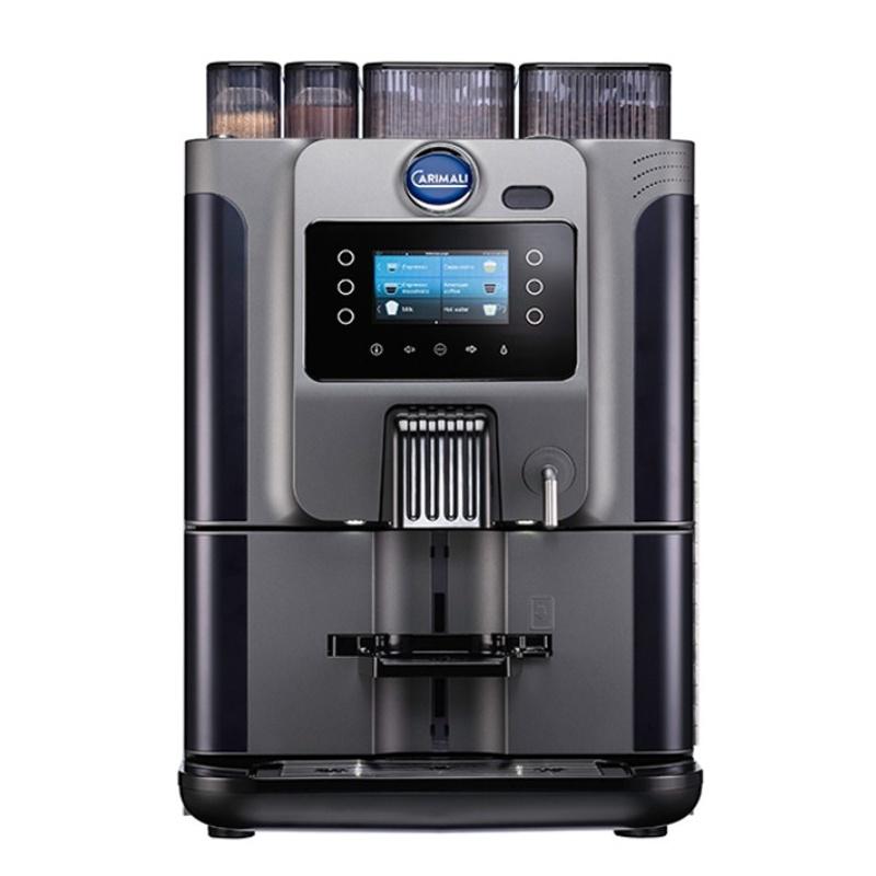 Automat de cafea Carimali Blue Dot.3 display 4K 2 rasnite rezervor apa gri mat