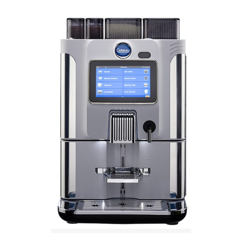 Automat de cafea Carimali BlueDot Plus.2 display 7K 1 rasnita rezervor apa alb