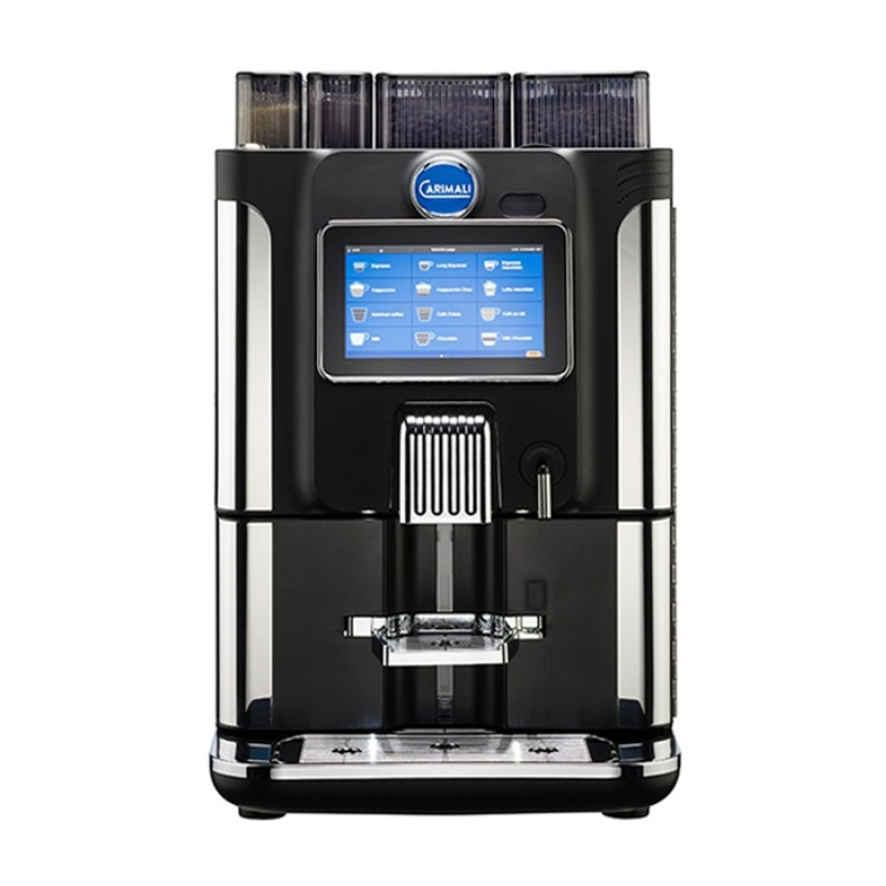 Automat de cafea Carimali BlueDot Plus.5 display 7K 1 rasnita rezervor apa negru