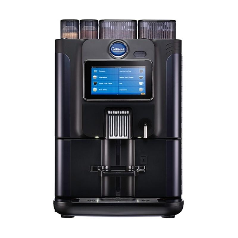 Automat de cafea Carimali BlueDot Plus.6 display 7K 1 rasnita rezervor apa negru mat
