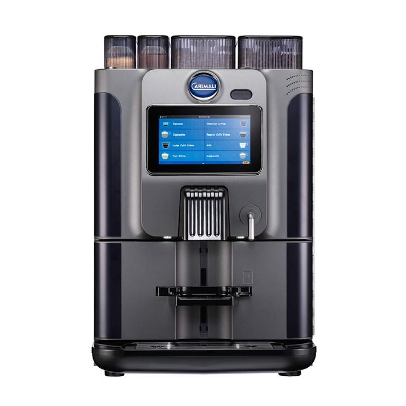 Automat de cafea Carimali BlueDot Plus.7 display 7K 2 rasnite rezervor apa gri mat