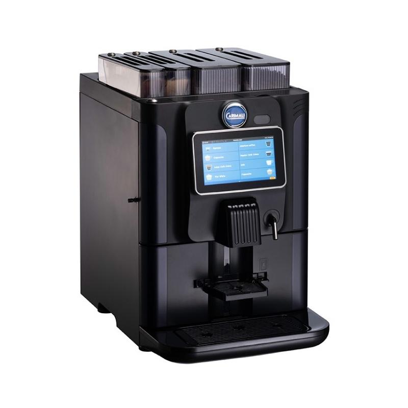 Automat de cafea Carimali BlueDot Power.3 display 7K 1 rasnita rezervor apa negru mat