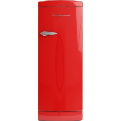 Frigider cu o usa Retro Bompani BOMP103/R, Clasa A++, 275 litri, Latime 60 cm, Rosu