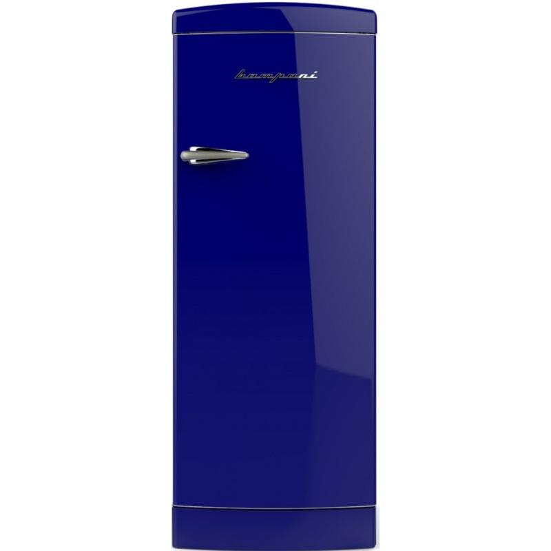 Frigider cu o usa Retro Bompani BOMP104/B, Clasa A++, 275 litri, Latime 60 cm, Albastru