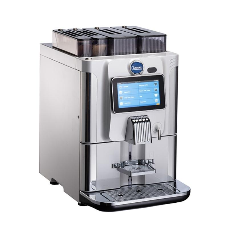 Automat de cafea Carimali BlueDot Power.6 display 7K 2 rasnite rezervor apa alb perlat