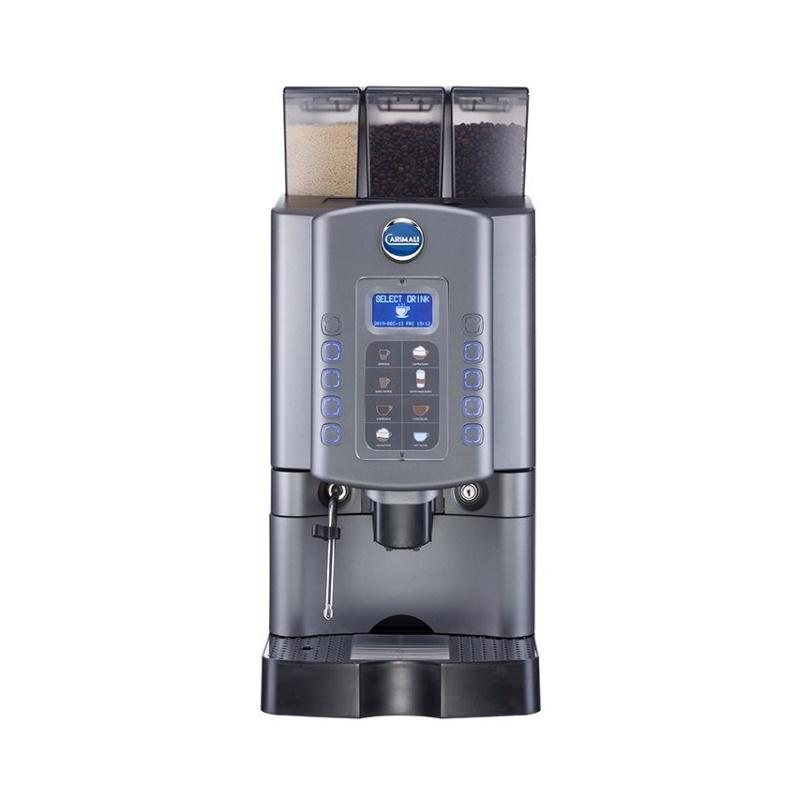 Automat de cafea Carimali Armonia Soft Easy.2 display 3K 1 rasnita racord apa direct la retea gri mat