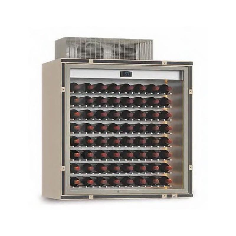 Modul frigorific central Ip Industrie Parete PC-VBR10, pentru vinuri, capacitate sticle 64, temperatura +14°C° / +16°C
