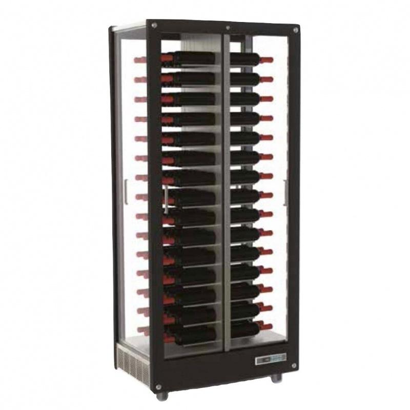 Vitrina frigorifica de centru Ip Industrie C2V10V, pentru vinuri, capacitate sticle 120, temperatura +6°C° / +18°C