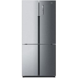 Combina frigorifica Side by Side Haier HTF-456DM6, 456 l, Clasa A+, No Frost, H 180 cm, Inox