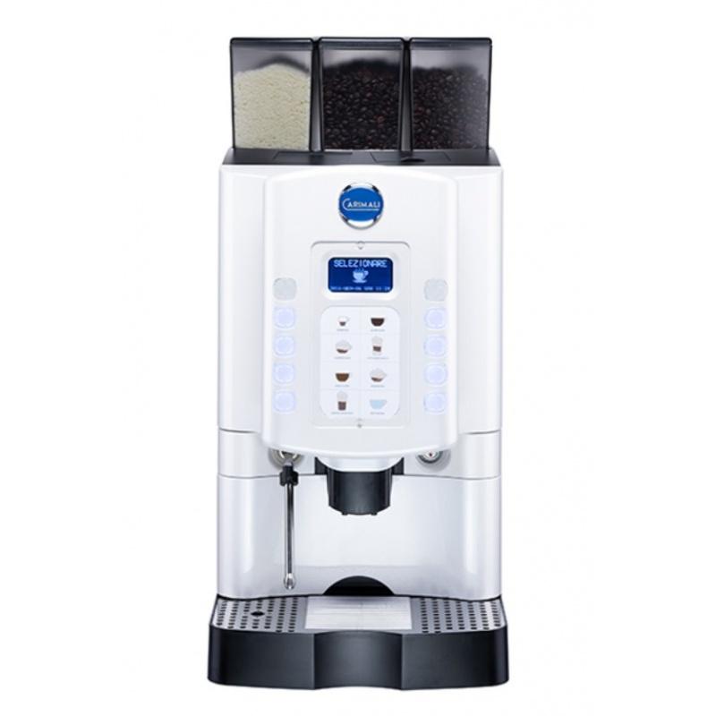 Automat de cafea Carimali Armonia Soft LM.5 display 3K 1 rasnita racord apa direct la retea alb