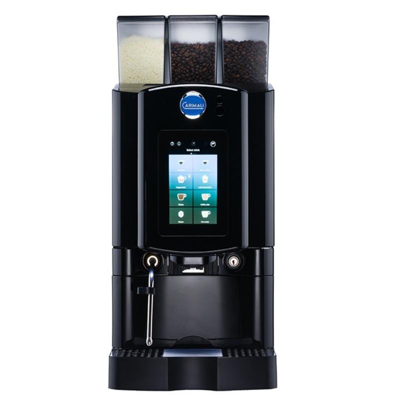 Automat de cafea Carimali Armonia Soft Plus LM.5 display 7k, 1 rasnita racord apa direct la retea negru