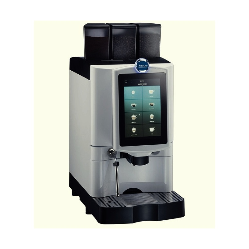 Automat de cafea Carimali Armonia Ultra Easy.4 display 10k ecran tactil 1 rasnita racord apa direct la retea gri mat