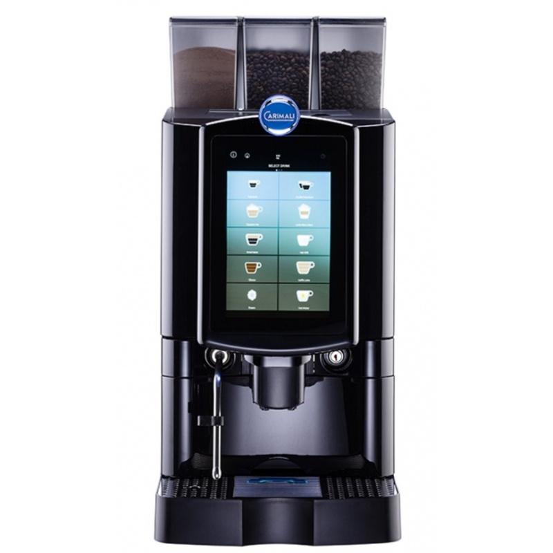 Automat de cafea Carimali Armonia Ultra LM.5 display 10k ecran tactil 1 rasnita racord apa direct la retea negru