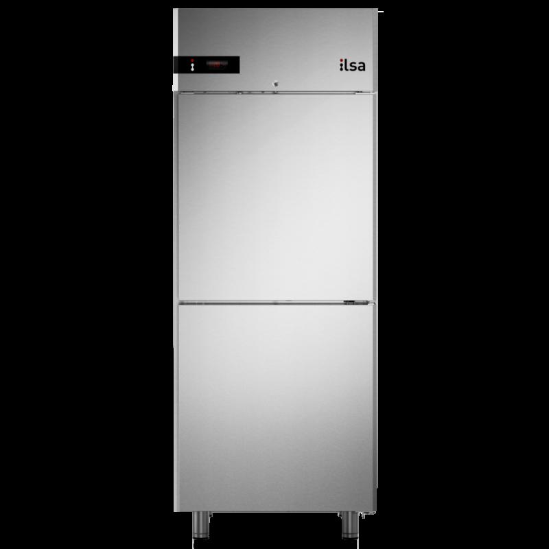 Frigider profesional ILsa Neos AN07Y6540 capacitate 700 l, cu inverter, 2 usi, temperatura -2° +8°C, inox