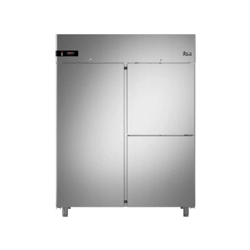 Frigider profesional ILsa Neos AN14Y2540 capacitate 1400 l, 3 usi, temperatura -2° +8°C, inox