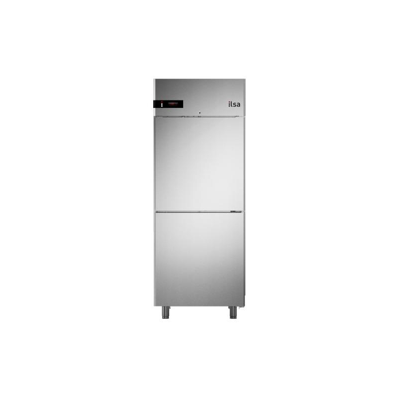 Congelator profesional ILsa Neos ANGEX4550 pentru gelaterie cu 2 usi, capacitate 519l, temperatura -25°-10°C, inox