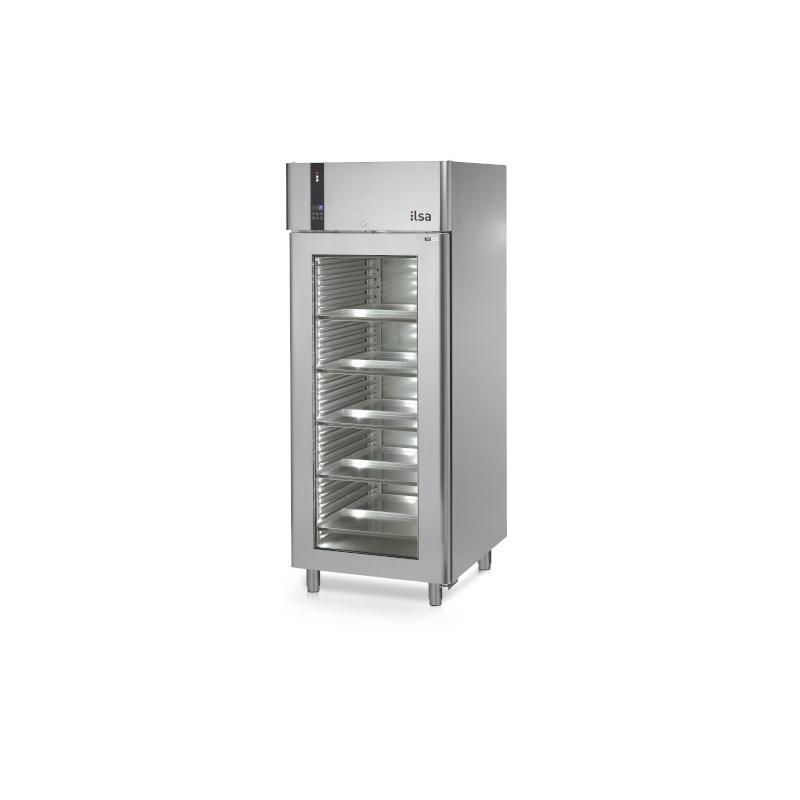 Vitrina frigorifica profesionala ILsa Evolve AE07V2500, capacitate 700 L, temperatura 0/+10°C, inox