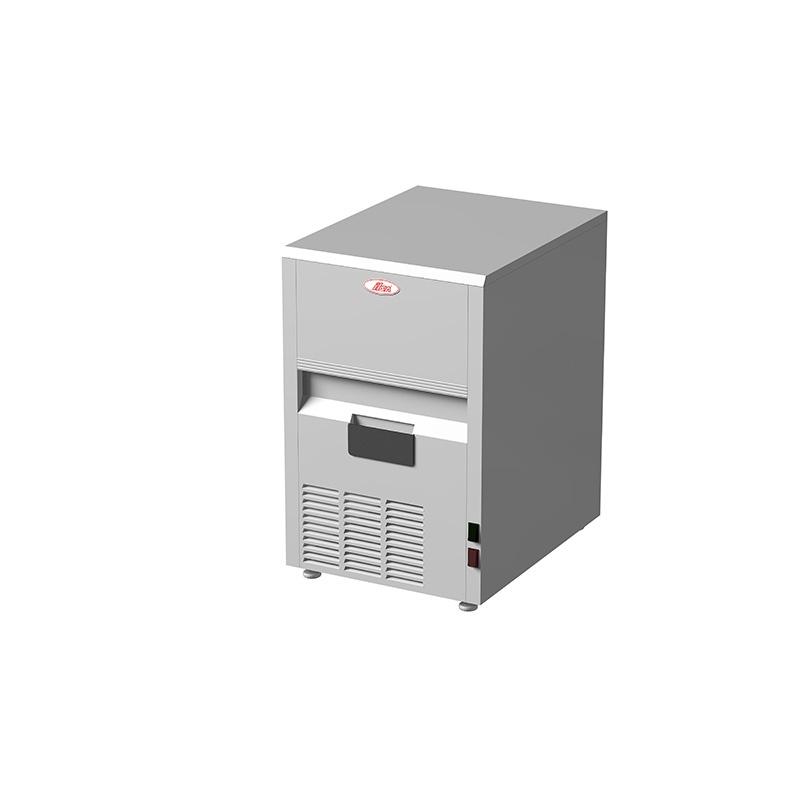 Masina de facut gheata cuburi, ILsa FGW2001, Capacitate 25KG / 24H, inox