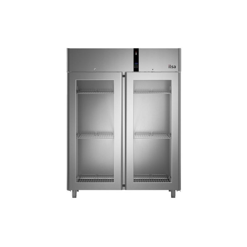 Vitrina frigorifica profesionala ILsa Evolve AE14V2500, cu 2 usi, capacitate 1400 L, temperatura 0/+10°C, inox