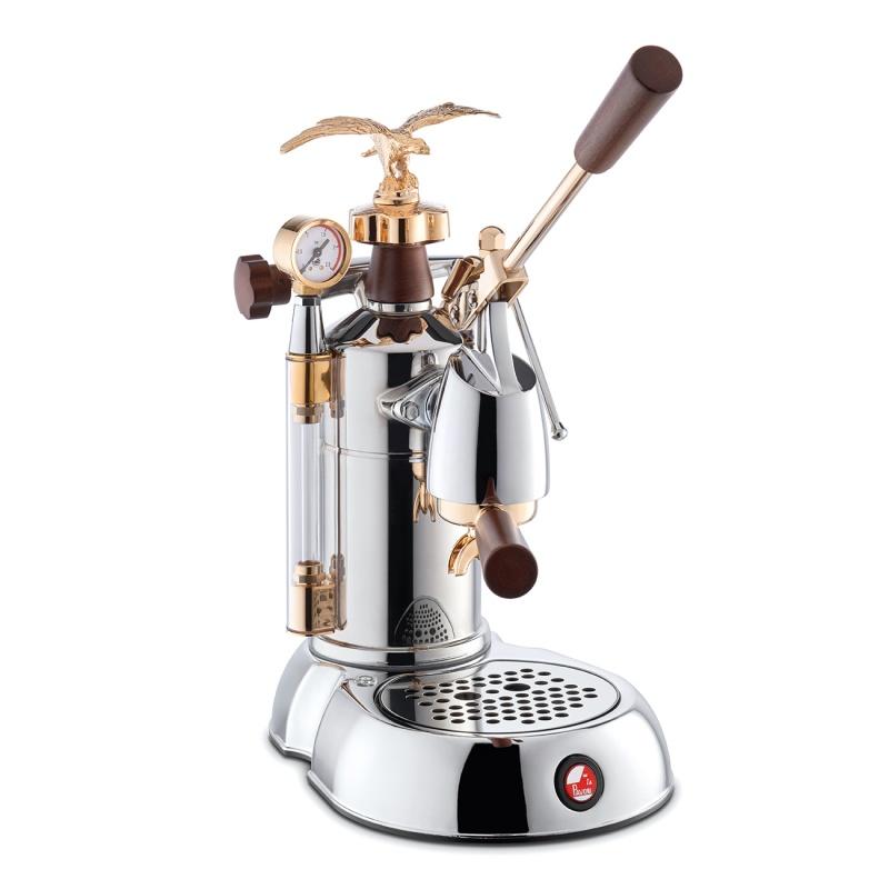 Espressoare de cafea La Pavoni Expo 2015 cu pârghie 120V argintiu