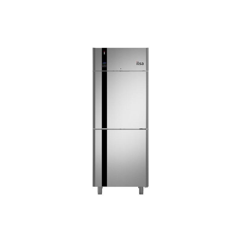 Congelator profesional ILsa Evolve AE68X2530 pentru patiserie, cu 2 usi, capacitate 630 L, temperatura -20 -10°C, inox
