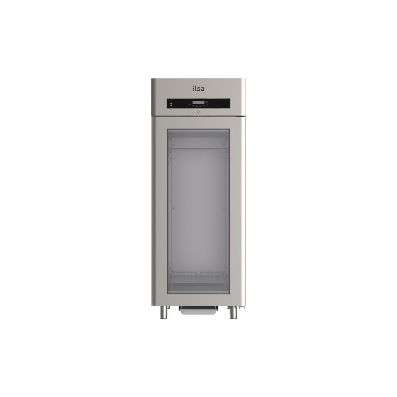 Vitrina frigorifica profesionala ILsa Evolve AE68V2520 pentru ciocolata, capacitate 630 L, temperatura +4 +18°C, inox