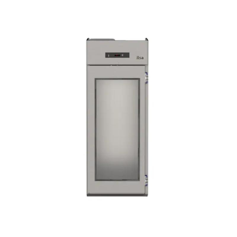 Vitrina frigorifica ILsa Roll IN ARL1V2510 cu trecere prin, 1250 l, refrigerare si motor ventilat, temperatura +2/+10°C, inox