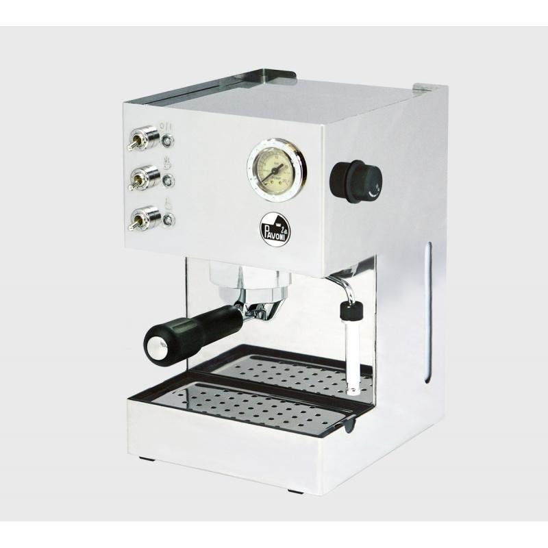 Espressoare de Cafea La Pavoni Gran Caffe GCPM presurizată mașină cu pompă 230V alb
