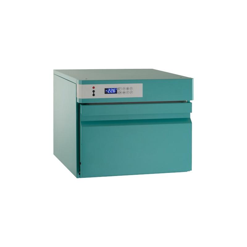 Abatitor Blast Chiller ILsa Evo AB23T2500, capacitate 7 / 5kg, temperatura +90°/-18°C, turcoaz