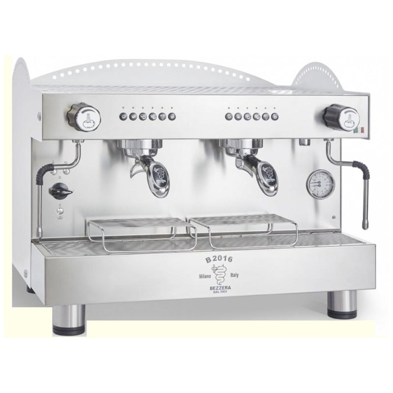 Espressor de Cafea Profesional Bezzera B2016 DE 2 grupuri alb