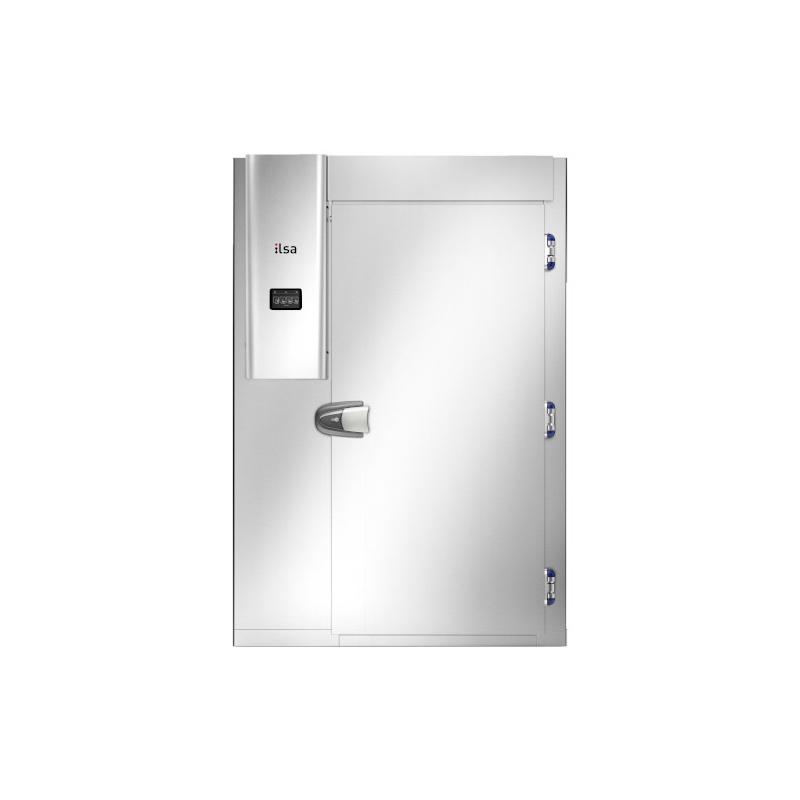 Camera Frigorifica Abatitor ILsa Tunnel AB40E4020/ACAB0008, pentru trolley, condensare cu apa, temperatura +90°/-18°C, inox