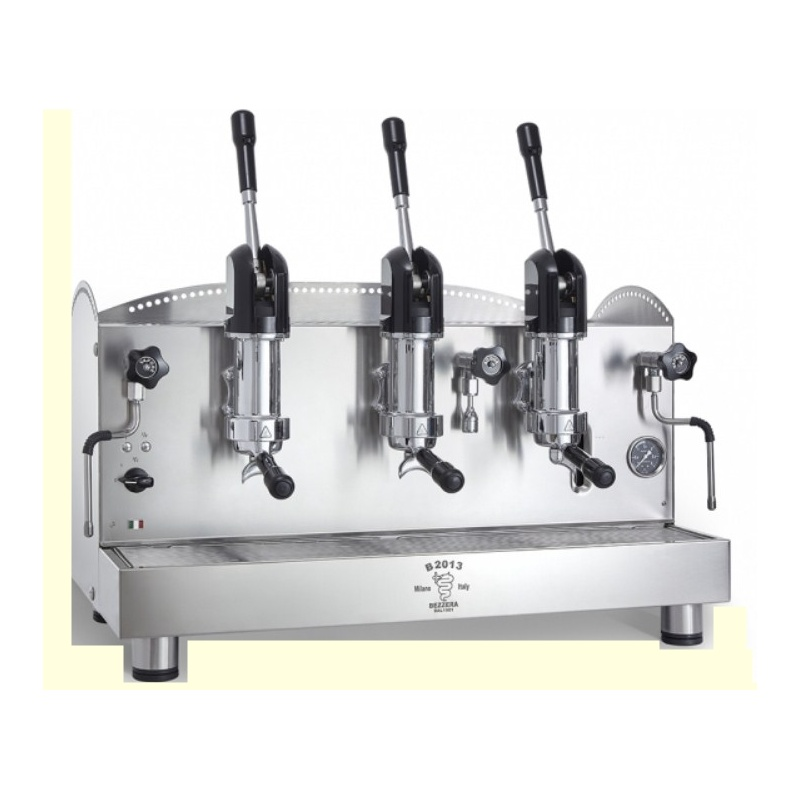 Espressor de Cafea Profesional Bezzera B2013 AL 3 grupuri otel inoxidabil