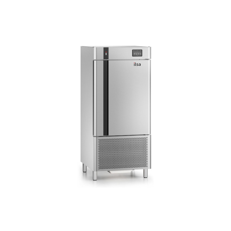 Abatitor Multifunctional ILsa Combi Chill AB11E4140, condensare cu apa, 10 tavi, temperatura +90°/-18°C, inox