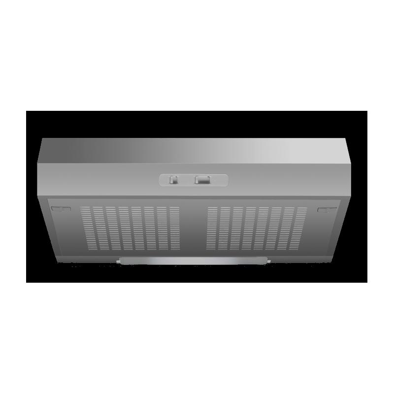Hota incorporabila Ardesia X01 F50 X, 50 cm, 1 motor, 220 m3/h, inox