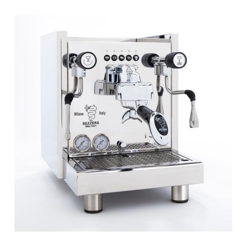 Espressor de Cafea Semi-Profesional Bezzera BZ16 DE R racord direct la apă otel inoxidabil