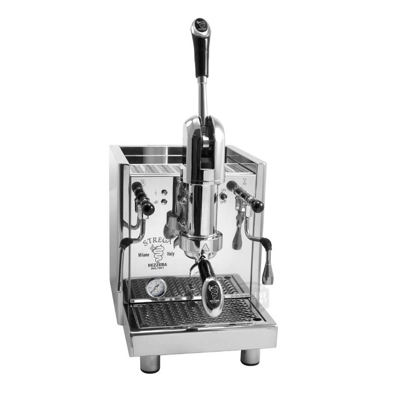 Espressor de Cafea Semi-Profesional Bezzera Strega AL R racord direct la apă otel inoxidabil