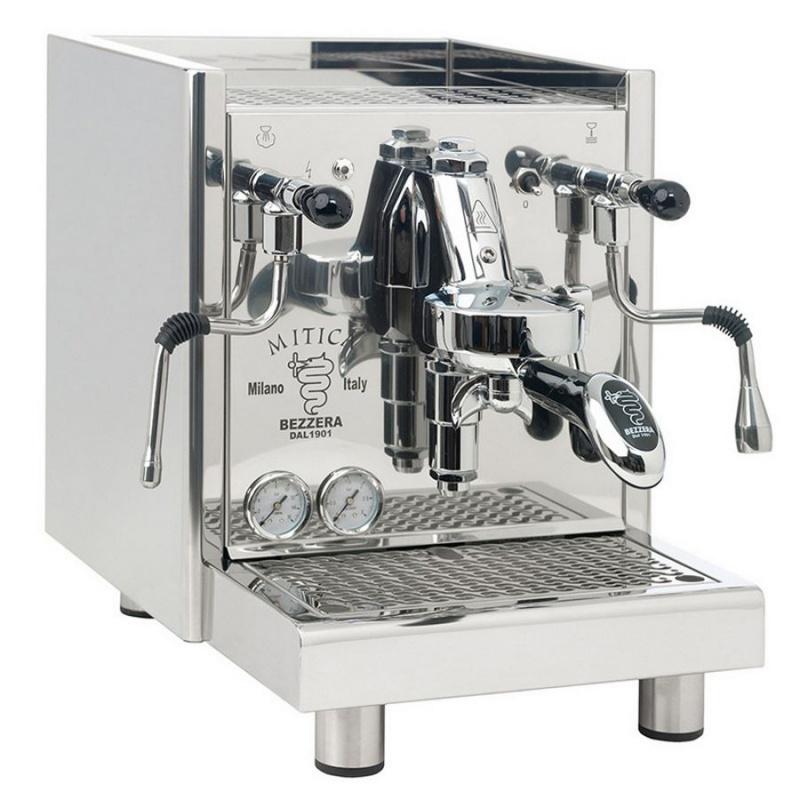 Espressor de Cafea Semi-Profesional Bezzera Mitica R racord direct apa otel inoxidabil