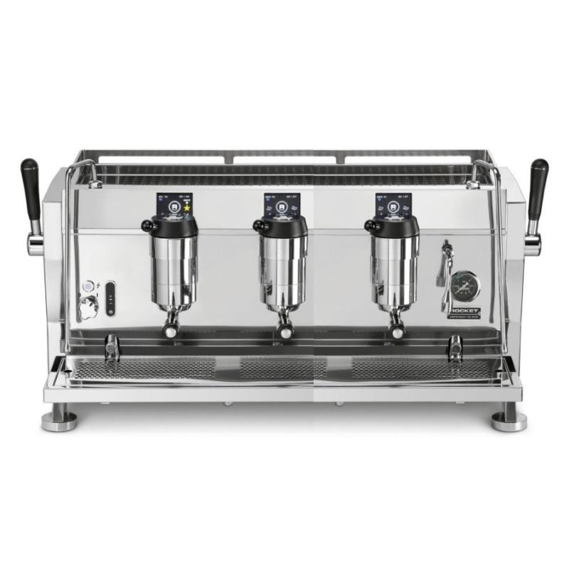 Espressor de Cafea comercial Rocket R 9V 3 grupuri argintiu