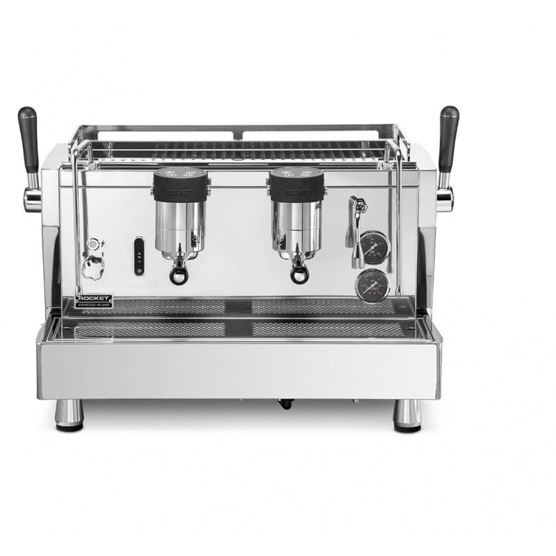 Espressor de Cafea comercial Rocket RE Doppia 3 grupuri argintiu