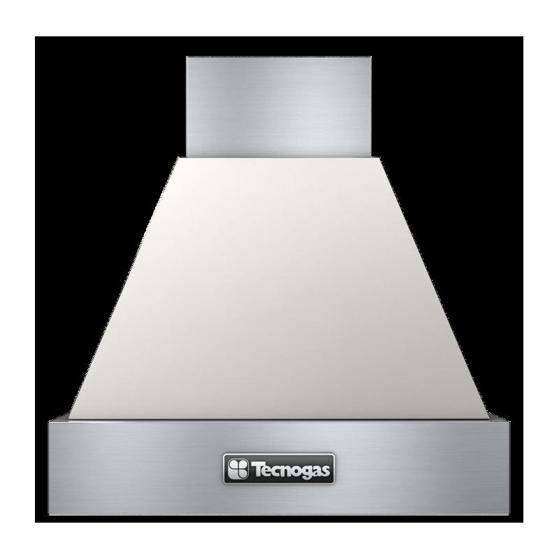 Hota decorativa Tecnogas DECO CP360C, 1 motor, 850 m3 / h, crem mat cu finisaje inox