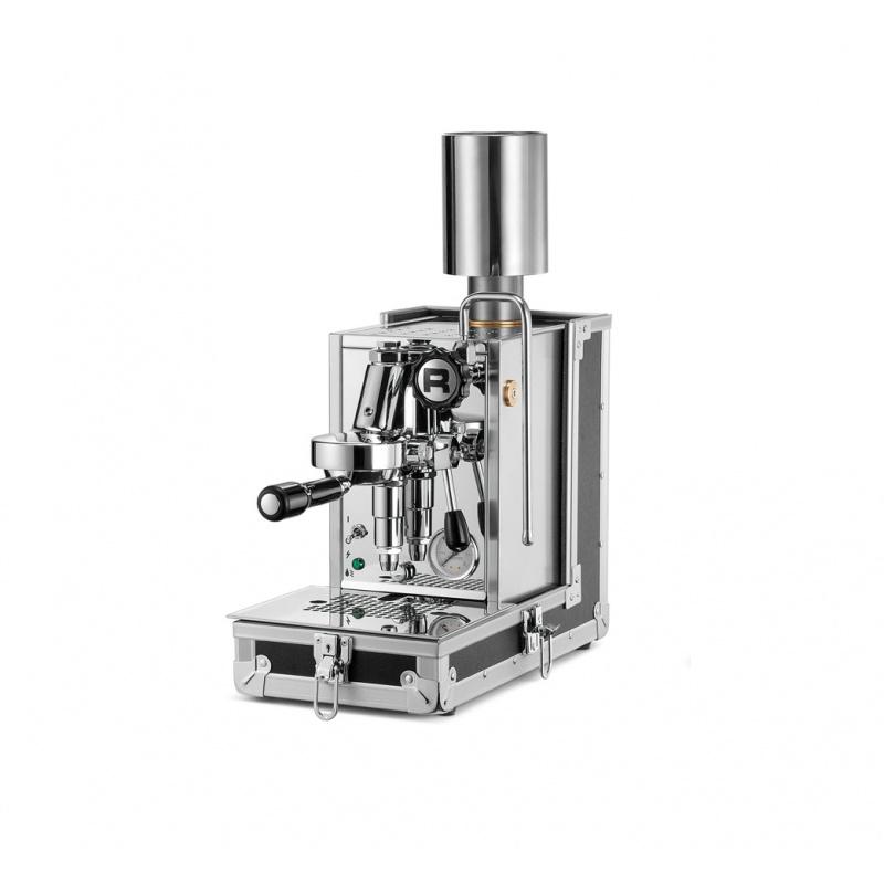 Espressor de Cafea domestic Rocket Porta Via portabil argintiu