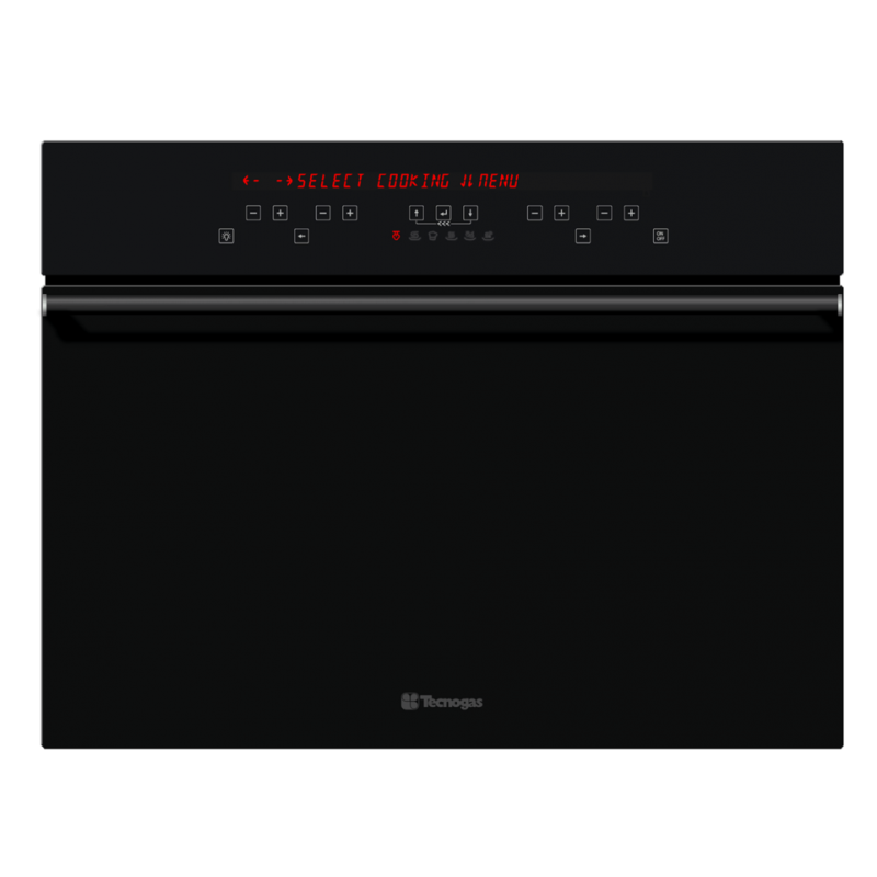 Cuptor incorporabil combi Tecnogas NEXT FN0K64S6B, cu abur, control digital, negru
