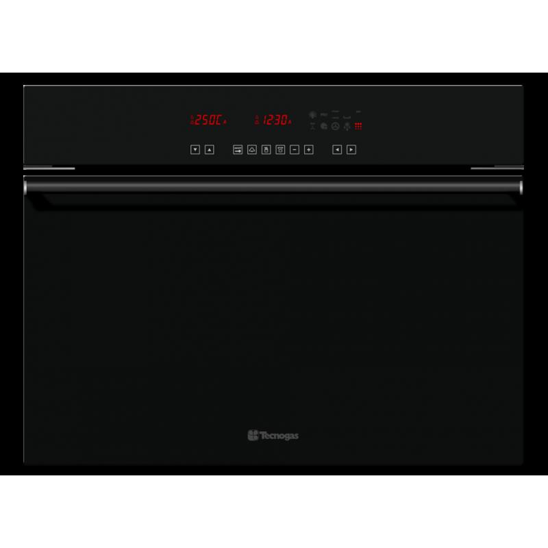 Cuptor incorporabil pirolitic Tecnogas NEXT FN0K64P10B cu control digital, 10 functii, negru lucios
