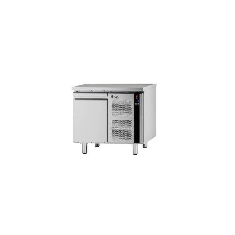 Masa rece refrigerata ILsa Evolve TEMG1V2530 fara blat, capacitate 98 l, temperatura -20°-10°C, inox