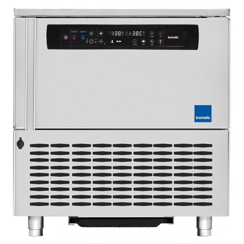 Abatitor Blast Chiller multifunctional Icematic BC 5, capacitate 20kg/12 kg/5 tavi, condensare cu aer, +90°C -18°C, inox