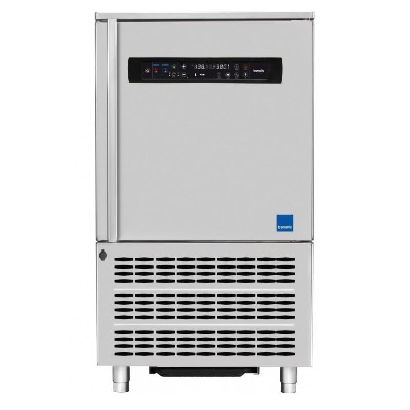Abatitor Blast Chiller multifunctional Icematic BC10.35, capacitate 35kg/25kg/10 tavi, condensare cu apa, +90°C -18°C, inox