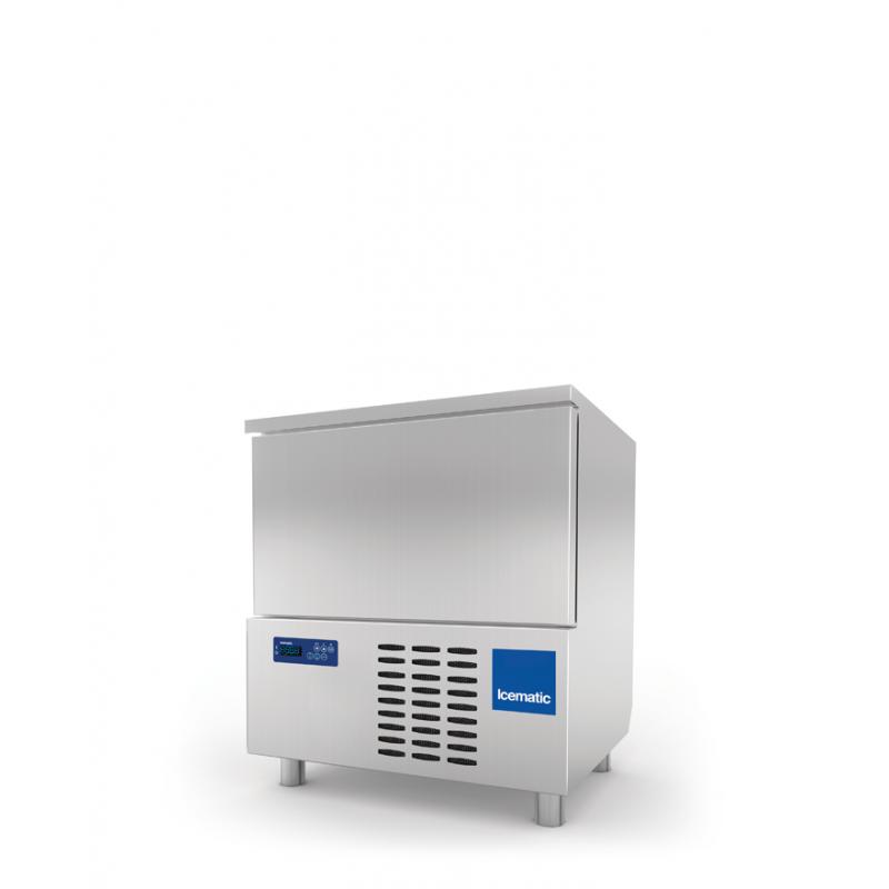 Abatitor Blast Chiller Icematic ST 5 1/1, capacitate 14kg/10kg/5 tavi, +90°C -18°C, inox