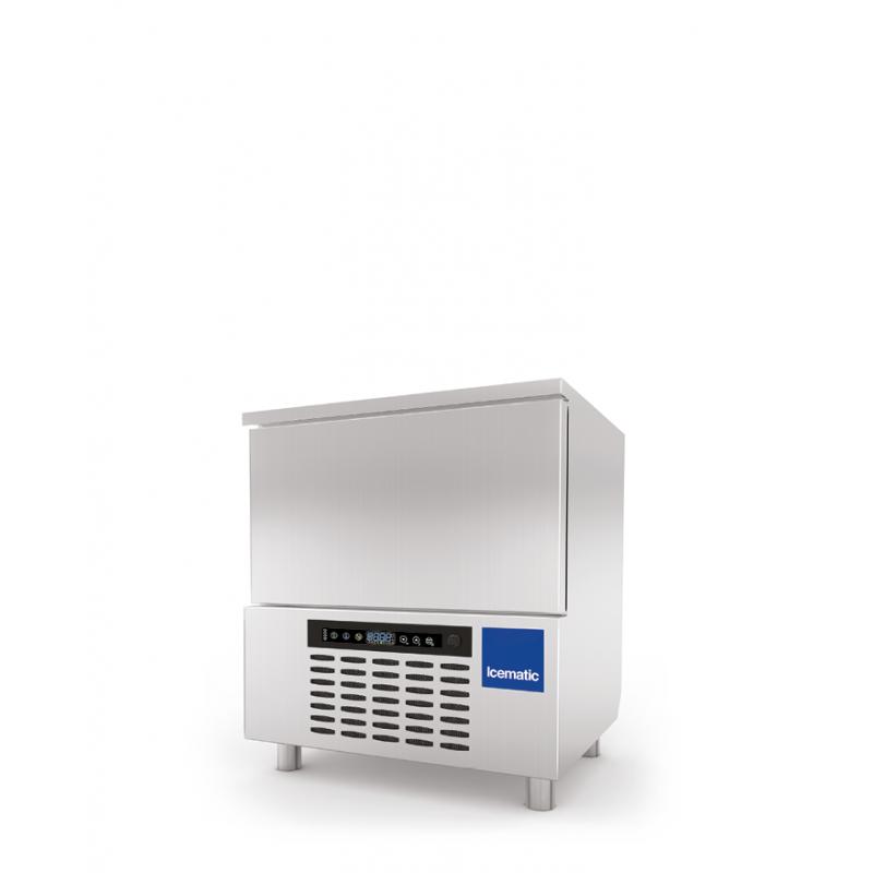 Abatitor Blast Chiller Icematic ST 5, condensare cu aer, capacitate 18kg/10kg/5 tavi, +90°C -18°C, inox