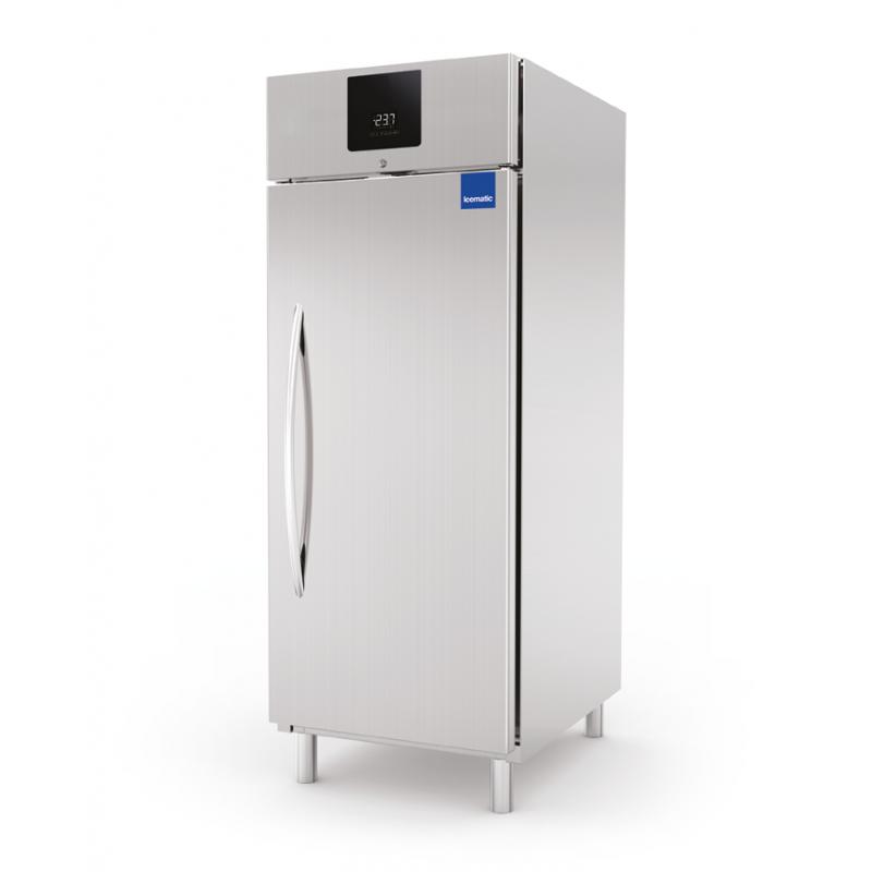 Frigider profesional Icematic EF 100 PV, capacitate 625 l, temperatura -2°C +8°C, inox
