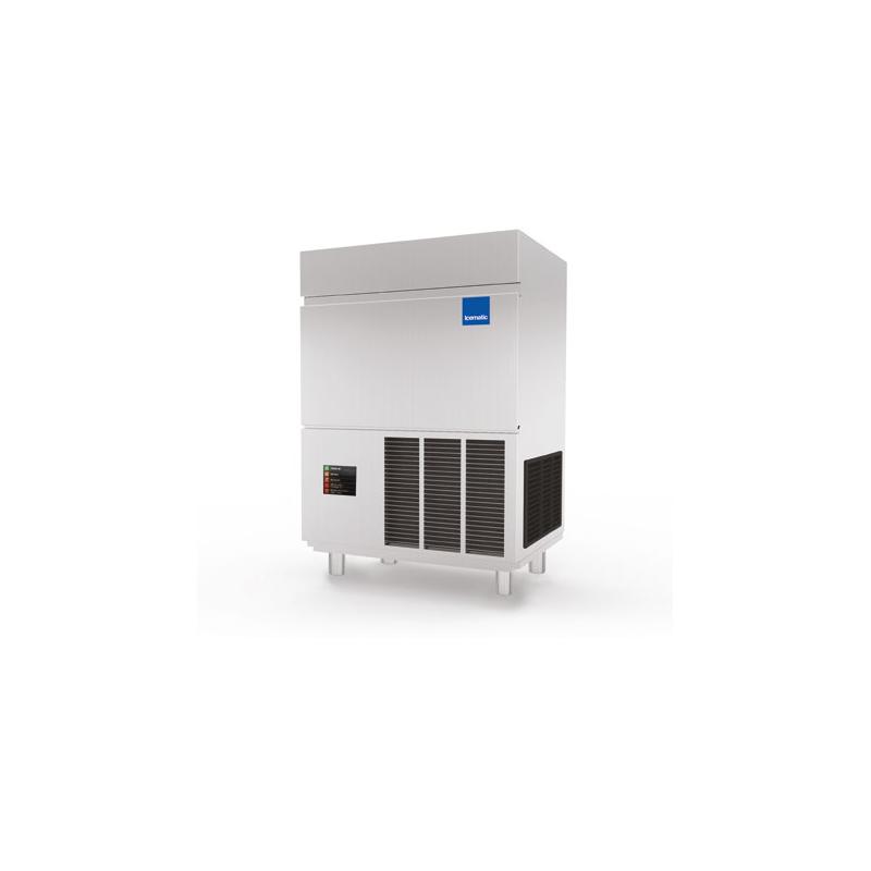 Aparat de facut fulgi de gheata Icematic F 125 C W, răcire cu apa, productie 24h/120kg, inox